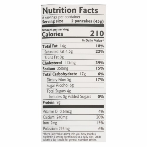 Birch Benders - Pnck&wfl Mix Cchip Keto - Case of 6 - 10 OZ Perspective: back