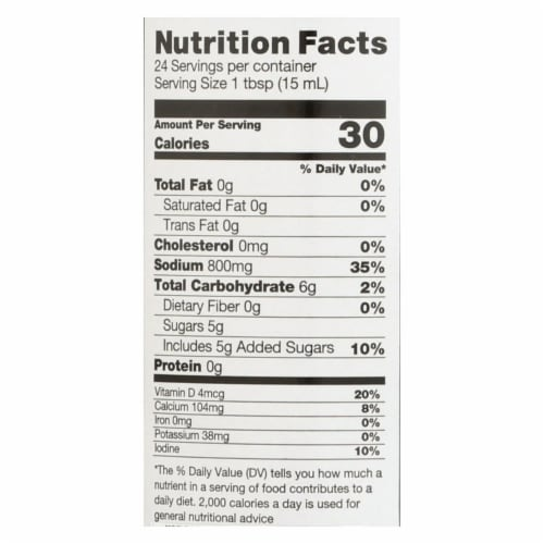 Ocean's Halo Stir-Fry Soy-Free Sauce - Case of 6 - 12 FZ Perspective: back