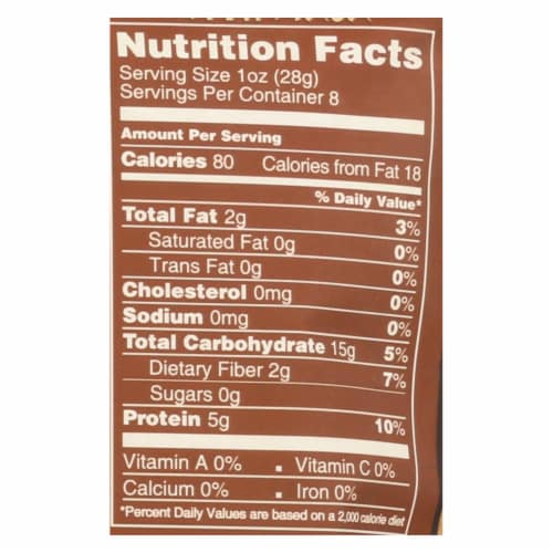 Natierra Organic Cacao Powder with Maca - Case of 6 - 8 oz. Perspective: back