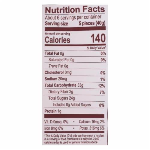 Natierra - Dried Mango Organic Cheeks - Case of 6 - 8 OZ Perspective: back