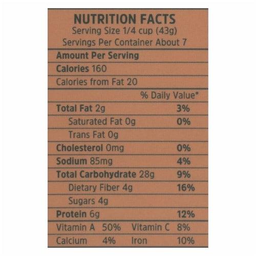 Pereg Quinoa - All Italiana - Case of 6 - 10.58 oz. Perspective: back
