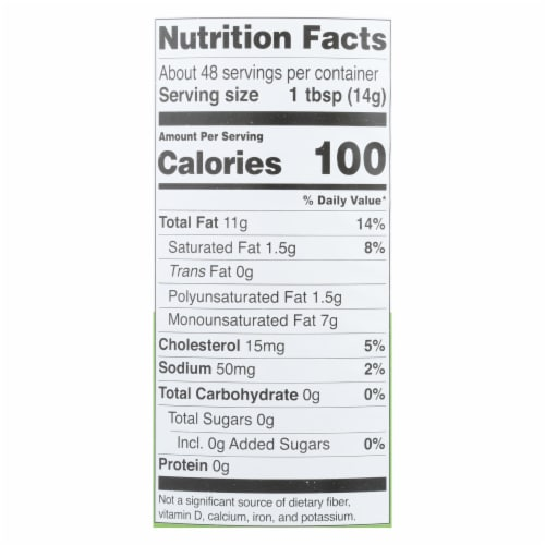 Chosen Foods - Mayo Avocado Oil Traditnl - Case of 6-24 FZ Perspective: back