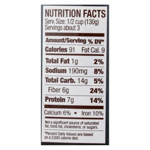 Jovial - 100 Percent Organic Cannellini Beans - Case of 6 - 13 oz. Perspective: back