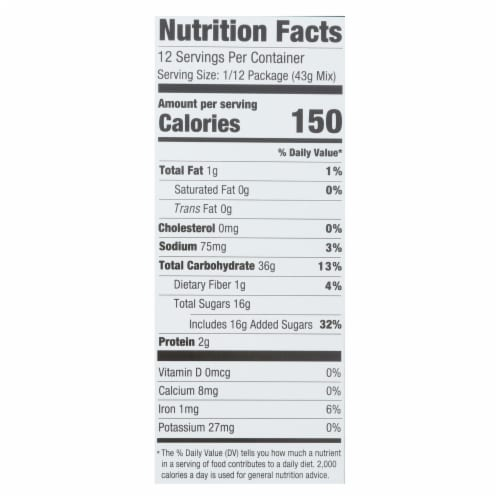 Foodstirs - Bkngmx Sweet Vanilla Cake - Case of 6-18 OZ Perspective: back