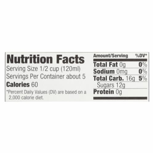 Natural Nectar Brittany Apple Sauce - Sauce - Case of 6 - 22.2 oz. Perspective: back