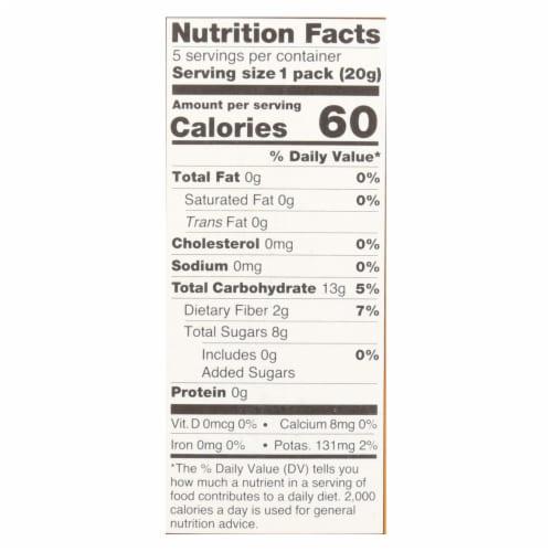 Bear Real Fruit Roll Yoyo - Mango - Case of 6 - 3.5 oz Perspective: back