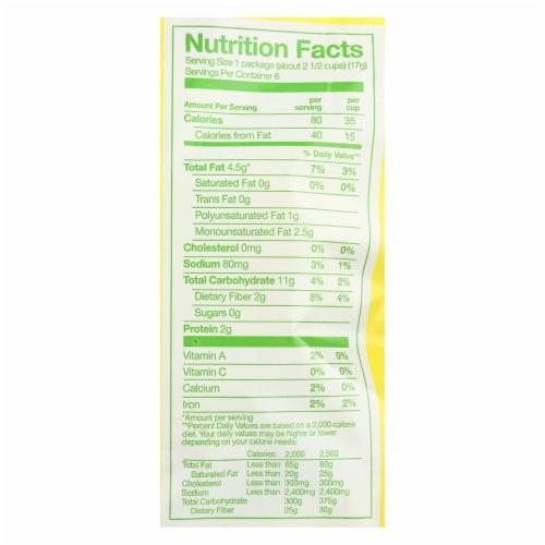 Angie's Kettle Corn Popcorn - Boomchickapop - Sea Salt - Case of 4 - 6/.6 oz Perspective: back