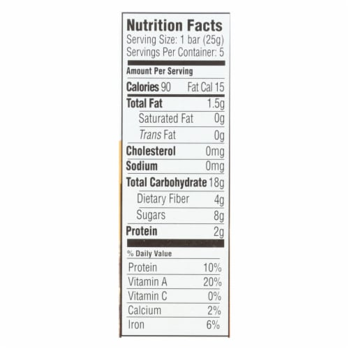 Happy Tot Happy Tot Fiber and Protein - Apple Peach Pumpkin and Cinnamon-Case of 6-0.88oz Perspective: back