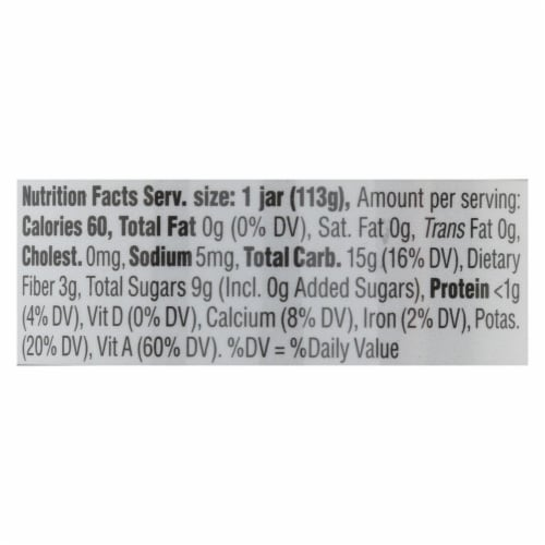 Happy Baby - Cc Pear Kale Stg2 - Case of 6 - 4 OZ Perspective: back