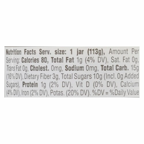 Happy Baby - Cc Pear Pine Avo Stg2 - Case of 6 - 4 OZ Perspective: back
