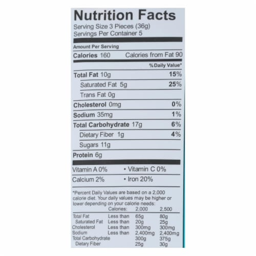 Enjoy Life - Protein Bites - Dipped Banana - Case of 6 - 6.4 oz. Perspective: back
