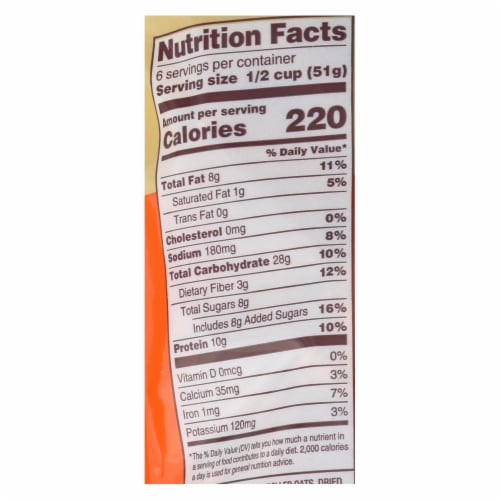 Back To Nature Granola - Peanut Butter - Case of 6 - 11 oz. Perspective: back