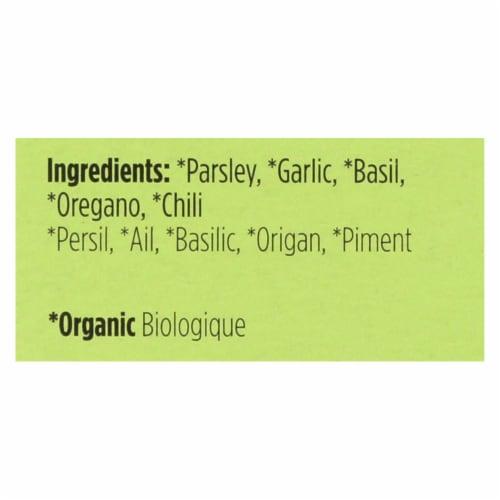 Spicely Organics - Organic Seasoning - Chimichurri - Case of 6 - 0.1 oz. Perspective: back