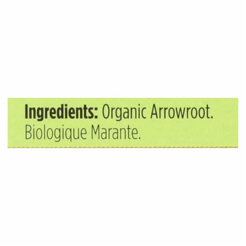 Spicely Organics - Organic Arrowroot - Case of 6 - 0.4 oz. Perspective: back