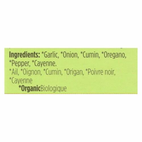 Spicely Organics - Organic Adobo Seasoning - Case of 6 - 0.4 oz. Perspective: back