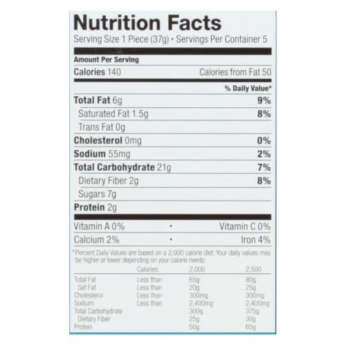 Bobo's Oat Bars - Original Bites - Gluten Free - Case of 6 - 1.3 oz. Perspective: back