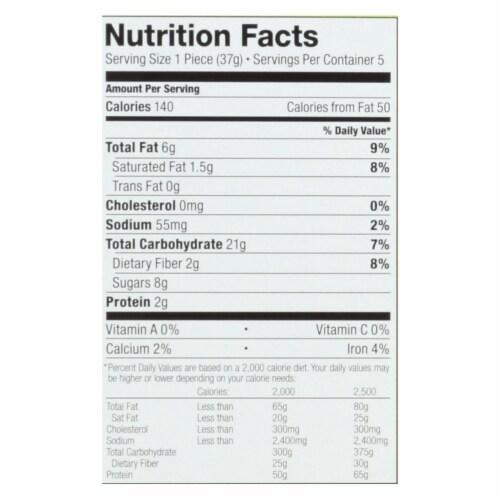 Bobo's Oat Bars - Apple Pie - Gluten Free - Case of 6 - 1.3 oz. Perspective: back