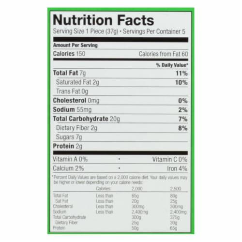 Bobo's Oat Bites Coconut Vegan & Gluten Free,6.5oz (Pack of 6) Perspective: back