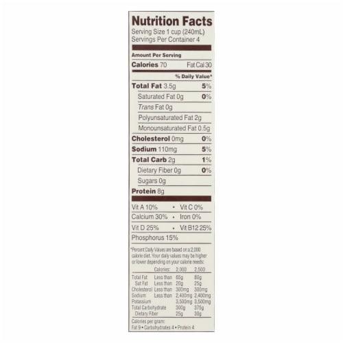 Good Karma Flax Milk - Protein - Vanilla - Case of 6 - 32 fl oz Perspective: back