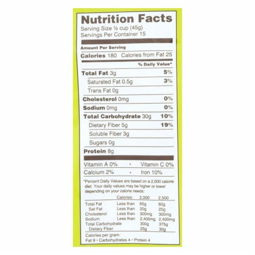 Bakery On Main Organic Happy Rolled Oats - Gluten Free - Case of 4 - 24 oz Perspective: back