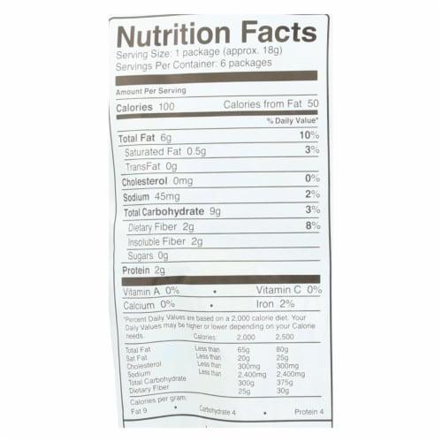 Skinnypop Popcorn 100 Calorie Popcorn Bags - Case of 10 - 0.65 oz. Perspective: back