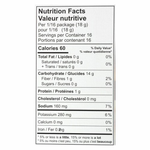 Namaste Foods Gluten Free Pizza Crust - Mix - Case of 6 - 16 oz. Perspective: back