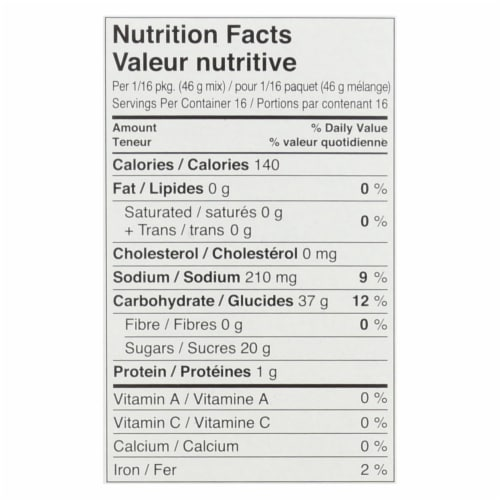 Namaste Foods Spice Carrot Cake - Mix - Case of 6 - 26 oz. Perspective: back
