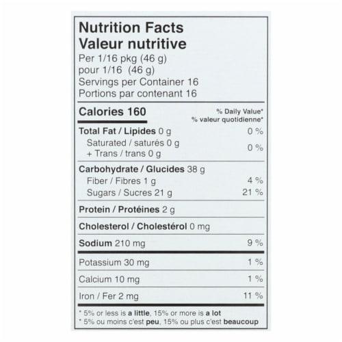 Namaste Foods Chocolate Cake - Mix - Case of 6 - 26 oz. Perspective: back