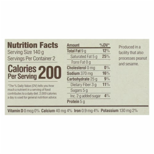 Upton's Naturals Meal Kit - Thai Curry Noodles - Case of 6 - 9.87 oz Perspective: back