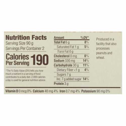 Upton's Naturals Meal Kit - Pad See Ew - Case of 6 - 6.34 oz Perspective: back