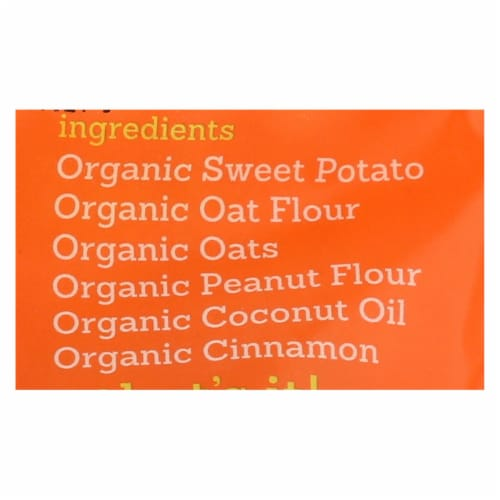 Riley's Organics Organic Dog Treats, Sweet Potato Recipe, Small  - Case of 6 - 5 OZ Perspective: back