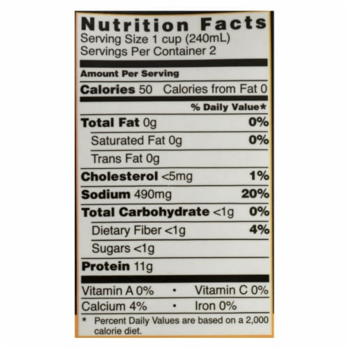 Kettle And Fire - Bone Broth Trmc Ginger Chicken - Case of 6 - 16.9 OZ Perspective: back