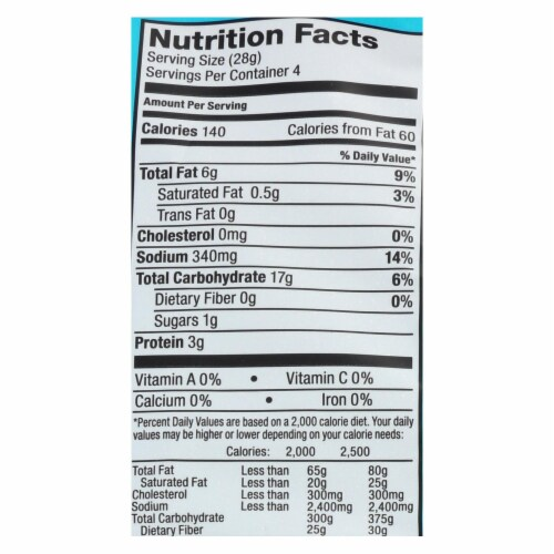 Enjoy Life - Lentil Chips - Plentils - Dill and Sour Cream - 4 oz - case of 12 Perspective: back