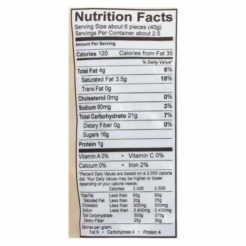 Cocomel - Organic Coconut Milk Caramels - Original Perspective: back