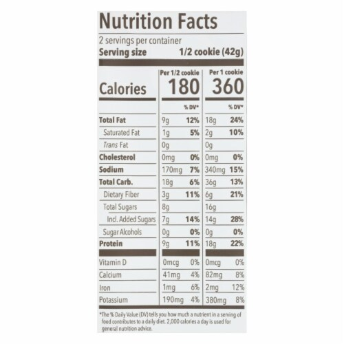 Munk Pack - Cookie Snickerdoodle - Case of 6 - 2.96 OZ Perspective: back