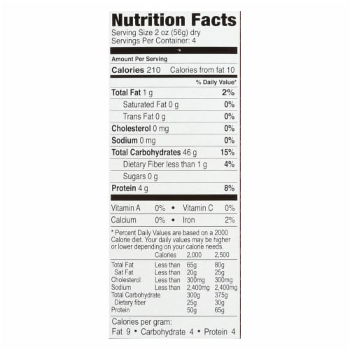 Explore Cuisine Organic Red Rice Pad Thai Noodles - Case of 6 - 8 OZ Perspective: back