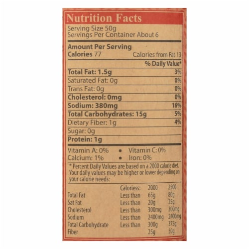 Star Anise Foods Roasted Peanut Vietnamese Simmer Sauce  - Case of 6 - 12 OZ Perspective: back