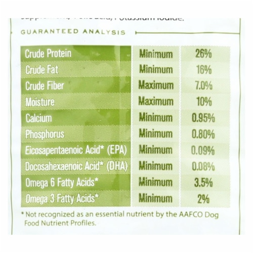 Tender & True Dog Food, Chicken And Liver - Case of 6 - 4 LB Perspective: back