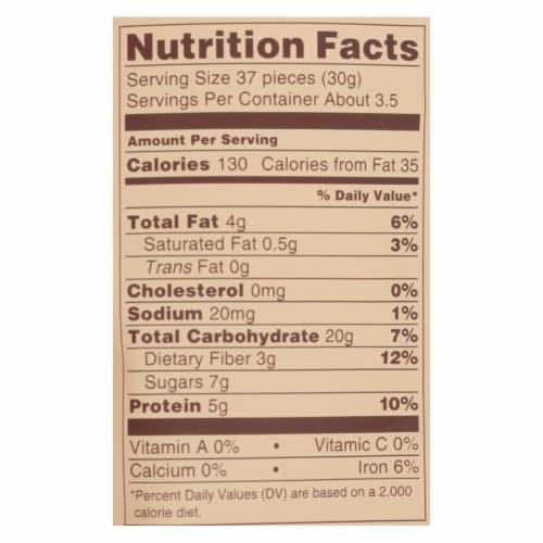 Lebby Snacks - Chickpea Snack Sesame Hny - Case of 6 - 3.5 OZ Perspective: back