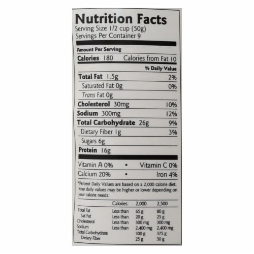 Birch Benders - Pancake and Waffle Mix - Protein - Case of 6 - 16 oz Perspective: back