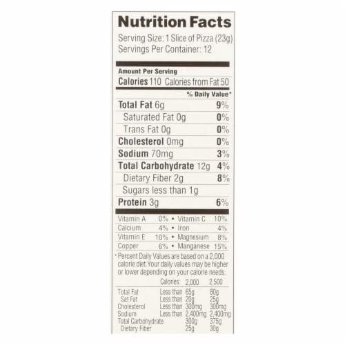 Simple Mills Almond Flour Pizza Dough Mix - Case of 6 - 9.8 oz. Perspective: back