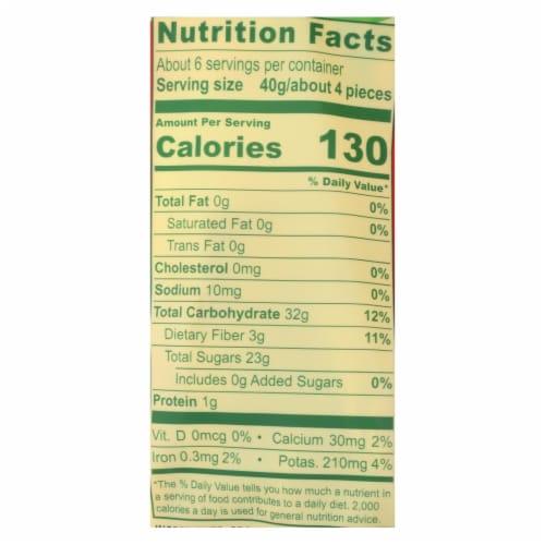 Solely - Dried Fruit Organic Mango Halves - Case of 6-8 OZ Perspective: back