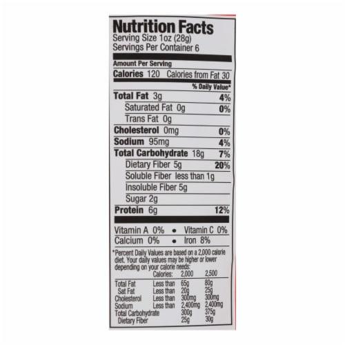 The Good Bean Crunchy Chickpeas Sweet Sriracha Medium - Case of 6 - 6 OZ Perspective: back