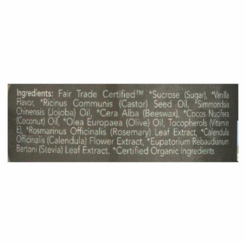 Ecolips Organic Lip Scrub - Vanilla Bean - Case of 6 - 0.5 oz. Perspective: back
