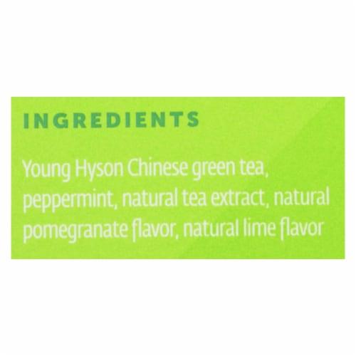 Zest Tea - Green Tea - Pomegranite Mojito - Case of 6 - 1.32 oz. Perspective: back