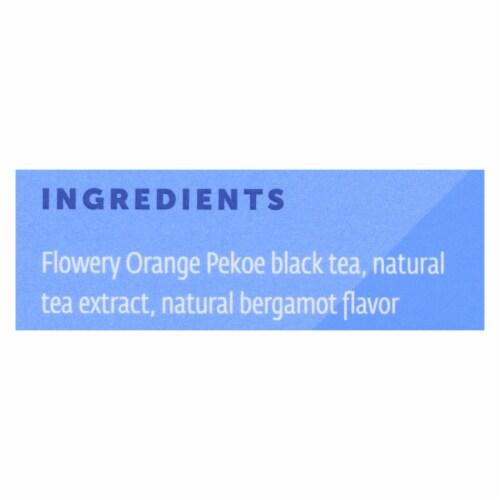 Zest Tea Energy Tea  Earl Grey Black Tea, 1.32oz (Pack of 6) Perspective: back