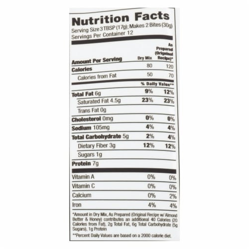 Creation Nation Cocoa For Coconuts Paleo Energy Bite Mix  - Case of 6 - 7.1 OZ Perspective: back