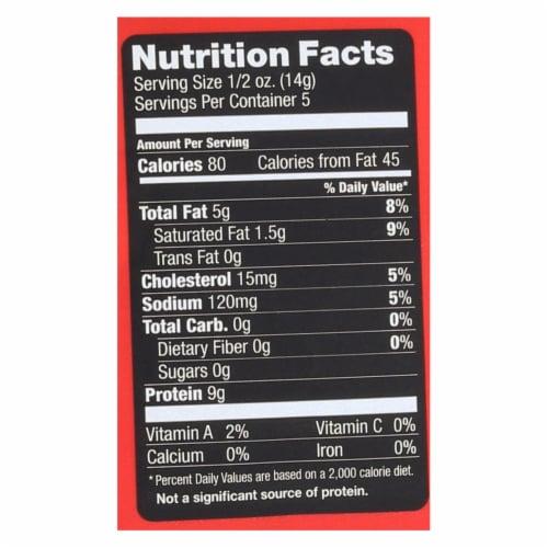 4505 - Pork Rinds - Chicharones - Chili - Salt - Case of 12 - 2.5 oz Perspective: back