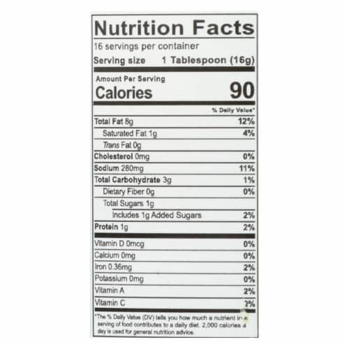 Lahtt Sauce Co - Sauce Chili Oil Vegan - Case of 6 - 7.75 OZ Perspective: back