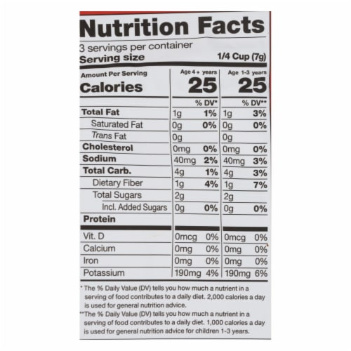Fresh Bellies Inc. - Toddler Treat Pprlicious - Case of 6 - .75 OZ Perspective: back